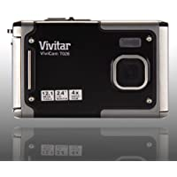 Vivitar Vivicam T026 12.1 Megapixel Digital Camera - Gray