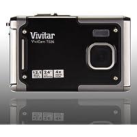 Vivitar Vivicam T026 12.1 Megapixel Digital Camera - Gray