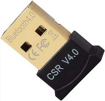 Tiny Bluetooth Adapter Dongle USB v 2.0 For PC Laptop Windows 8 7 Vista XP Linux