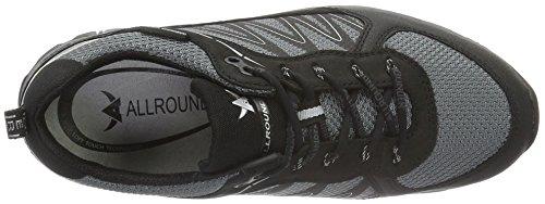 Tex Rubber Black Black 1 Ori Mephisto Allrounder para Panorama 1 Negro by de Running Zapatillas Mujer q7qtx1vw