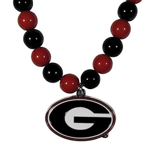 Siskiyou NCAA Georgia Bulldogs Fan Bead Necklace