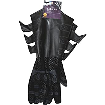 Batman Costume Adult Gauntlets Gloves