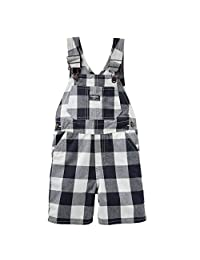 OshKosh B'gosh Boys Buffalo Check Shortalls