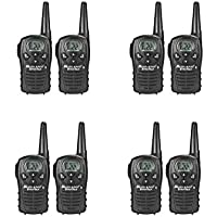 Midland LXT118 Two-Way Radio 22 Channel FRS GMRS Walkie Talkie 8 PACK