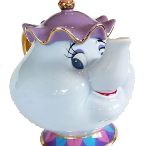 Mrs Teapot (Disney Resort limited release ' Beauty and the Beast ' Mrs. Potts Teapot)