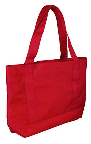 DALIX Shopping Reuseable Grocery Red 12X PACK