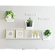 Wall-Mounted Flower Stand Wall Shelf Living Room Bedroom Wall Decoration Frame Balcony Wall Green Plant Plant Flower Pot Shelf