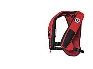Mustang Survival Hydro Elite 38 Inflatable PFD, Black/Red