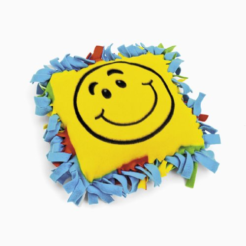 Fleece Smile Face Tied Pillow Craft Kit (makes 6) ()
