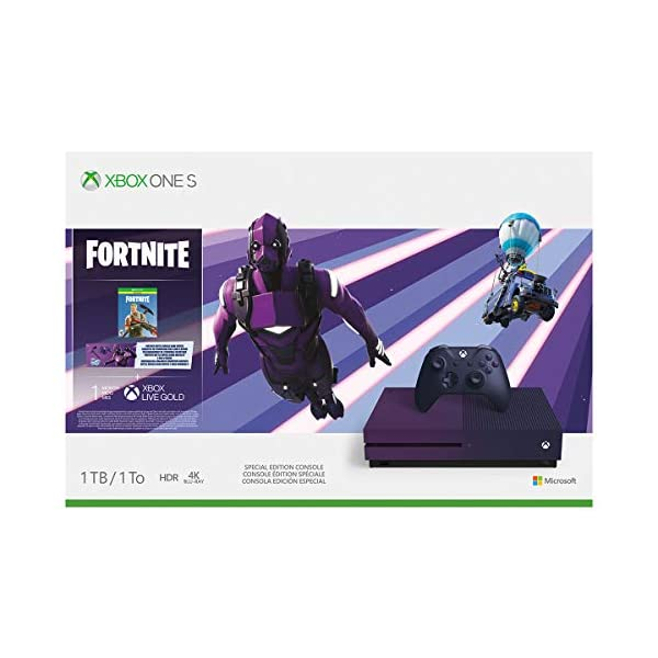Xbox One S 1TB Console - Fortnite Battle Royale Special Edition Bundle (Discontinued) 2