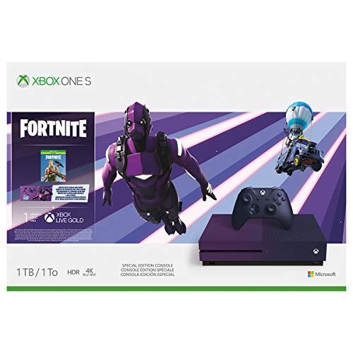 41HXlhXdIEL - Xbox One S 1TB Console - Fortnite Battle Royale Special Edition Bundle