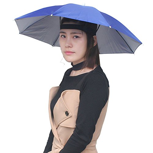 Head Headband Umbrella Hat, Folding Headwear 26