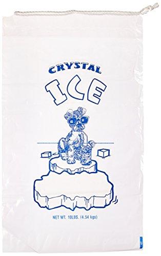 Inno-Pak 367706872 Drawstring Ice Bag, Dog 10 lb, 20