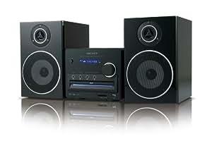 SCOTT Essential S2 - Microcadena (32 W, CD audio, DVD video, SVCD, MP3, JPG, MPEG4, XVID, FM) Negro