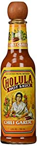 Cholula Chili garlic Hot Sauce, 5 Fl Oz (Pack of 3)