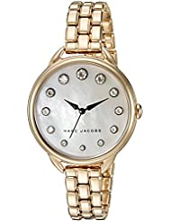 Marc Jacobs Womens Betty Gold-Tone Watch - MJ3509
