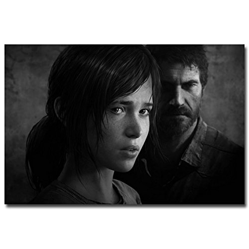 Stylish Custom The Last Of Us Canvas Wall Poster Print Zombie Survival Horror Action Tv Game Pitcures 16 (Neutral Milk Hotel Poster compare prices)