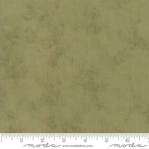 - Sweet Violet Leaf Green Blender Fabric 2228-13 from Moda by The Yard