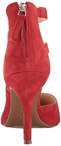 Nine Suede Florent9x9 West Red Women's Pump rq8rnSFwW