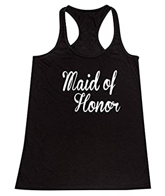 P&B The Brides Maid of Honor Women's Tank Top