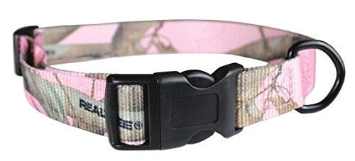 OmniPet Camouflage Kwik Klip Dog Collar, Medium, Pink by OmniPet