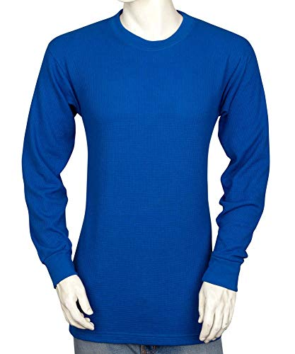 Styllion Mens Thermal Shirt - Big and Tall - Heavy Weight