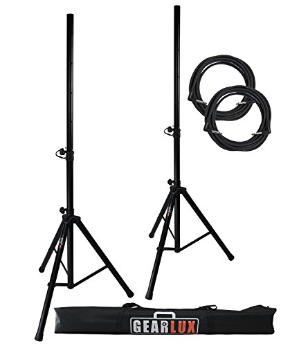 Gearlux Tripod Speaker Stands Carrying product image