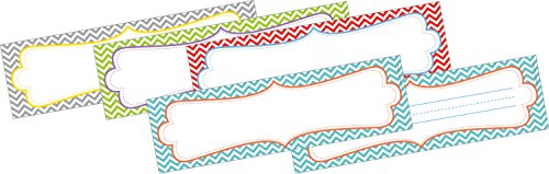 Barker Creek  Double-Sided Chevron - Beautiful Desk Tags (LL-1423) Barker Name Tags