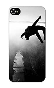 Koorph-7336-sariqei Exultantor Awesome Case Cover Compatible With Iphone 5/5s - Base Jumping Jump Fly Flight Extreme Dive Diving Sky (13)