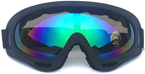 SHENXX Gafas De Seguridad Ocupacional, Gafas De Esquí De Fondo Gafas De Moto Gafas De Esquí Hombres Y Mujeres Gafas Protectoras, Antivirus, A Prueba De Viento, A Prueba De Polvo,L