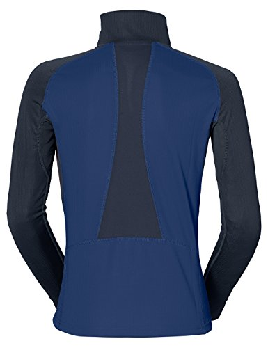Vaude LA Luette - Sudadera de media cremallera para mujer Azul - Sailor Blue