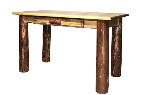 Montana Woodworks Glacier Country Collection Desk, Laptop/Writing Glacier Country ()