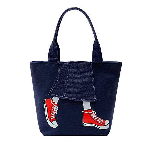 (WEUIE Women's Large Travel Totes Bag Cowboy Canvas Shoulder Bag Beach Satchels Purse Top-handle Shopping Handbag)