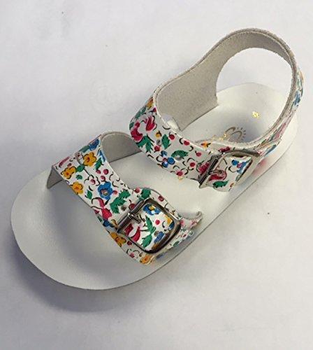 (Salt Water Sandals by Hoy Shoe Sea Wees,Rosebud,1 M US Infant)