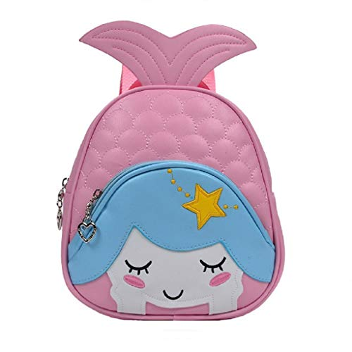 Zmsdt 1-3 años de Edad Bebé Mochila Linda de Dibujos Animados Bolso pequeño para niños Bolso Bandolera para niños y...