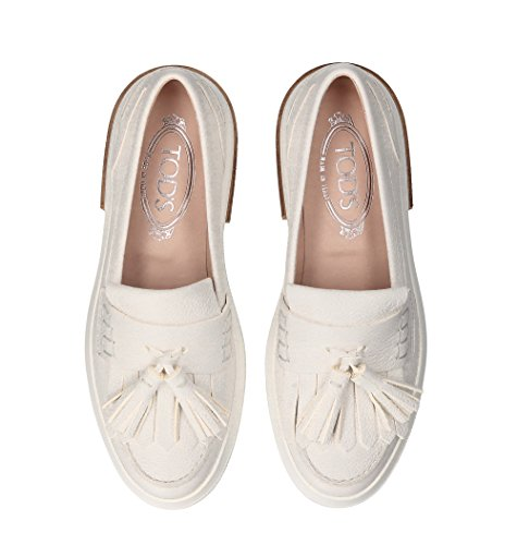 Beige Leather XXW92B0Y3905J1B015 Loafers Tod's Women's YqWRnTO