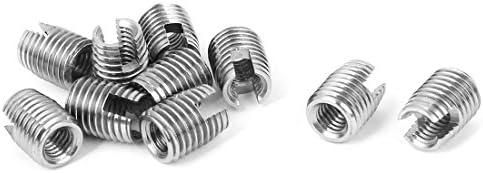 Aexit 10mm Länge Edelstahl 306 Typ selbstschneidender Gewindeeinsatz 10St (b05d04a50c6f2e0797ee28f4c5bdda29)