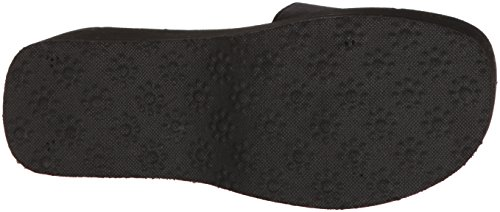 Rocket Fabric Velvet Crush Sandal Boom Women's Dog Black Wedge rXvHqWrSwa