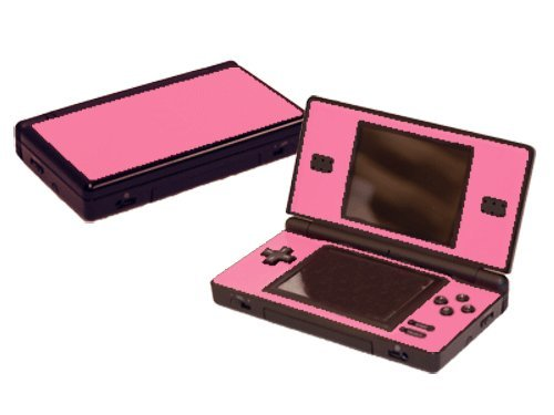 Nintendo Ds Faceplates - Nintendo DS Lite Skin (DSL) - NEW - SOFT PINK system skins faceplate decal mod