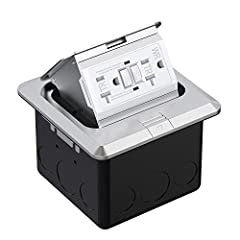 Tamper resistant receptacles block access unless a 2 prong plug is inserted.  Water tight / corrosion resistant hardware ensures long life and reliable performance.  Waterproof design on select models Match any room's design with a range of f...