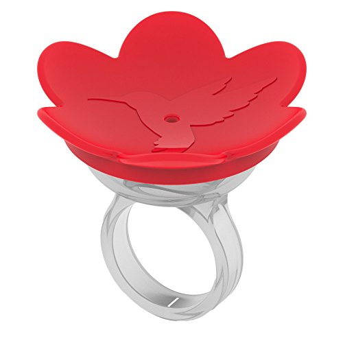 ZUMMR Hummingbird Ring Feeder (Red)