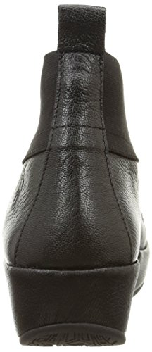 London Women's Blis Black Boot Fly d7Owd