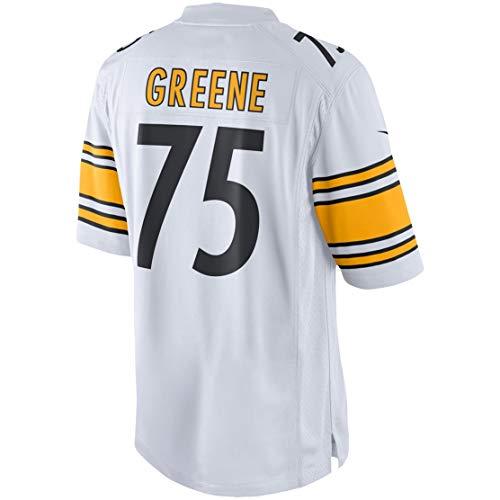 Ray.eto Mens Joe_Greene_75_White Fans Replica Jersey Sportswear