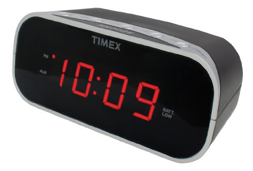 timex-t121b-alarm-clock-with-07-inch-red-display-black