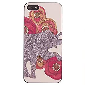 Elephant Pattern in the Play PC Hard Case for iphone 6 4.7