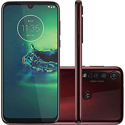 Celular Motorola Moto G8 Plus Cereja 64gb Câmera Tripla 48mp + 5mp + 16mp
