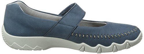 105 Blue Damen River Spin Halbschuhe Jane Blau Mary Hotter gOf7q