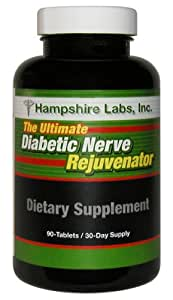 Hampshire Labs Ultimate Diabetic Nerve Rejuvenator, 90-Tablets