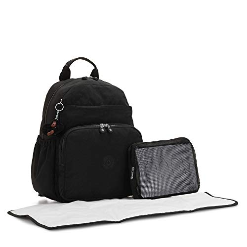 Kipling Maisie Diaper Backpack True Black