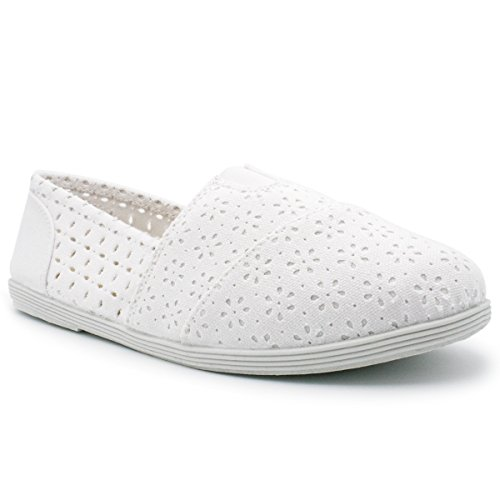 Soda Damesobject Flats-schoenen Nieuw Wit *